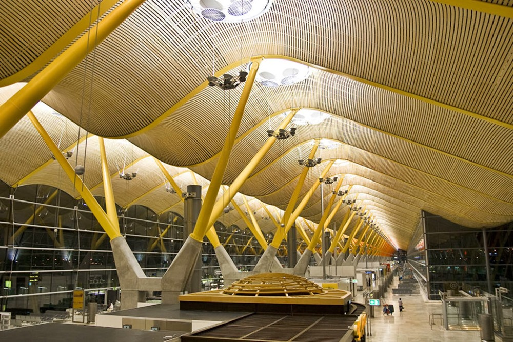 Aeropuerto barajas zunix
